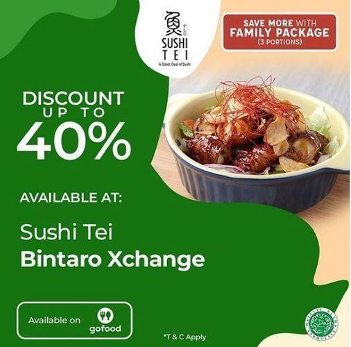 Sushi Tei - Promo Diskon 40% (26334239) di Kota Jakarta Selatan