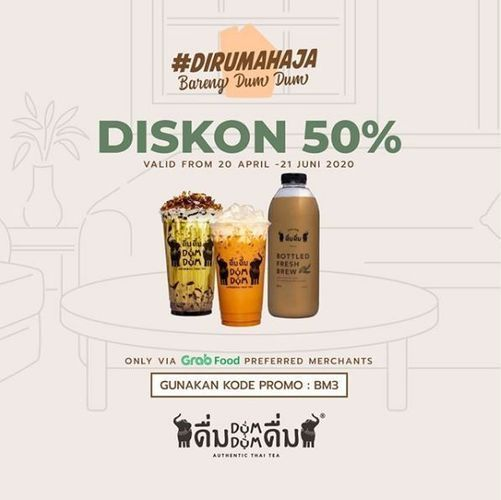 Dum Dum - Promo Diskon 50% (26334243) di Kota Jakarta Selatan
