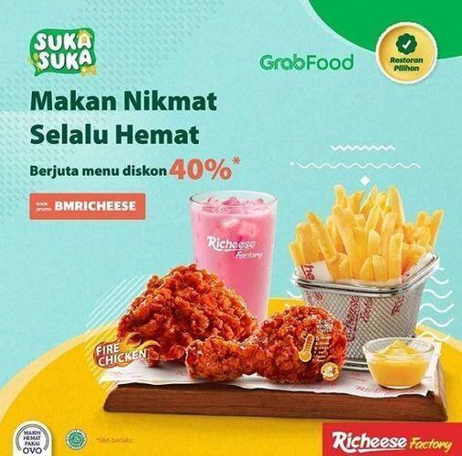 Richeese - Promo Diskon 40% (26334247) di Kota Jakarta Selatan