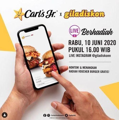 Carls Jr - Gila Diskon (26334283) di Kota Jakarta Selatan