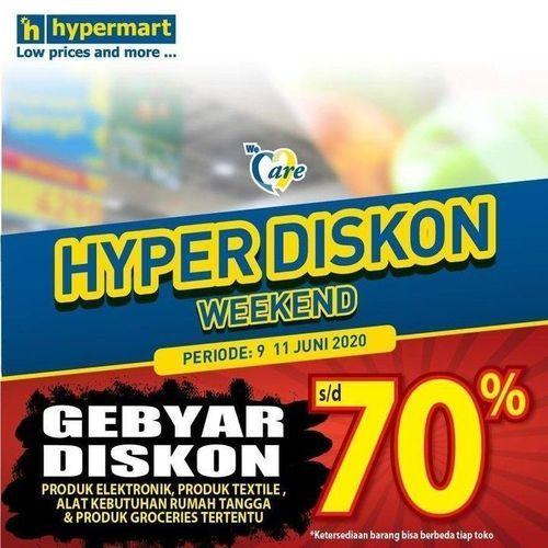 HYPERMART HYPER DISKON NON GROCERY UP TO 70% (26339807) di Kota Jakarta Selatan