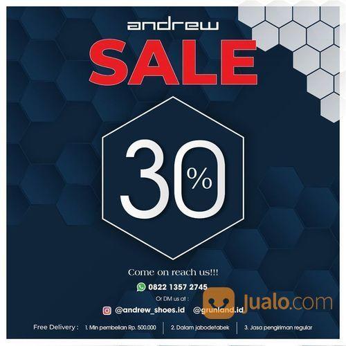 Andrew Shoes Sale Up To 30% (26340543) di Kota Jakarta Selatan