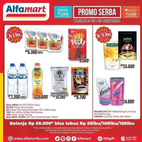 alfamart promo serba 5rb (26341279) di Kota Jakarta Selatan