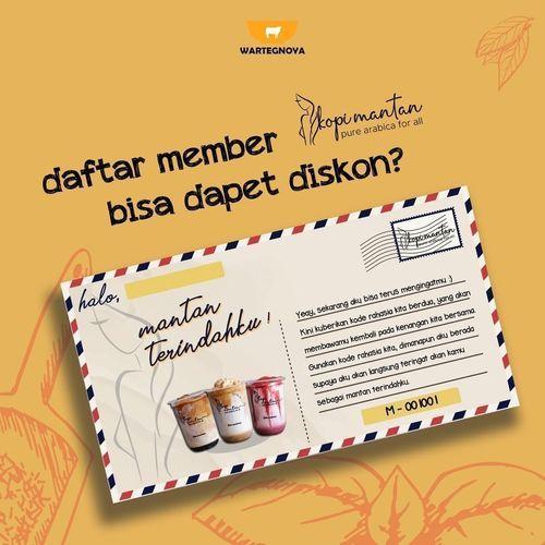 PROMO MEMBER KOPI MANTAN UNTUK DAPAT DISKON (26342195) di Kota Jakarta Selatan