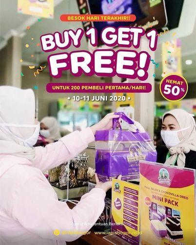 LAPIS BOGOR BUY 1 GET 1 FREE UNUTK 200 PEMBELI PERTAMA/HARI (26347035) di Kota Jakarta Selatan