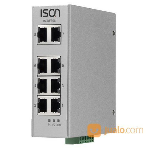 ISON IS-DF308 8-Port Industrial Unmanaged Ethernet Switch (26351887) di Kota Jakarta Pusat