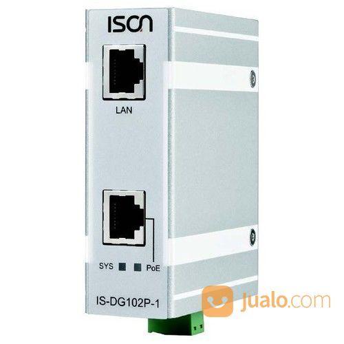ISON IS-DG102P-1-60 Industrial 2 Port Gigabit Layer 2 Ultra PoE Injector, Up To 60 Watts PoE/PoE+ (26366491) di Kota Jakarta Pusat