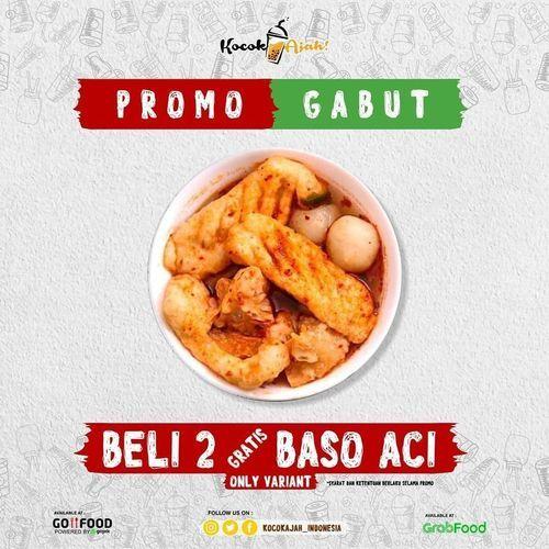 KOCOK AJAH PROMO GABUT BELI 2 GRATIS BASO ACI (26378575) di Kota Jakarta Selatan