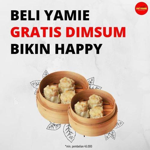 ORIYAMIE YOGYAKARTA PROMO BELI YAMIE GRATIS DIMSUM (26378579) di Kota Jakarta Selatan