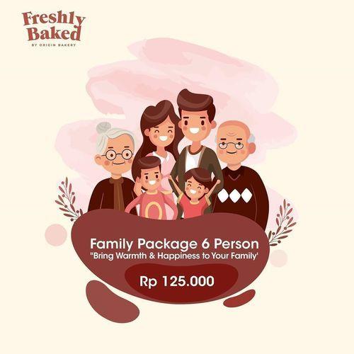 Freshly Baked Family Package (26379711) di Kota Jakarta Selatan