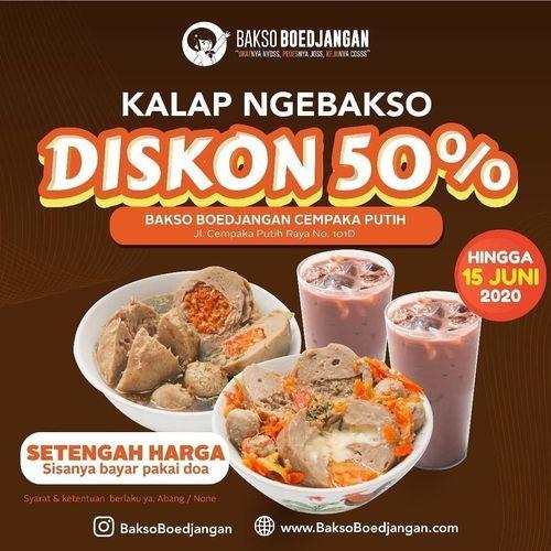 Bakso Boedjangan Diskon 50% (26379803) di Kota Jakarta Selatan