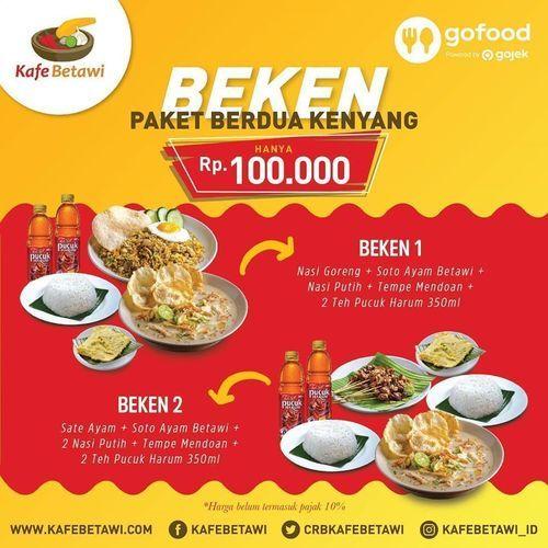 Kafe Betawi Paket Berdua Kenyang (26379807) di Kota Jakarta Selatan