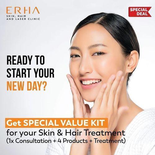ERHA CLINIC SPECIAL VALUE KIT FOR HAIR AND SKIN TREATMENT (26386747) di Kota Jakarta Selatan