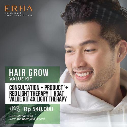 ERHA CLINIC SPECIAL VALUE KIT FOR HAIR AND SKIN TREATMENT (26386751) di Kota Jakarta Selatan