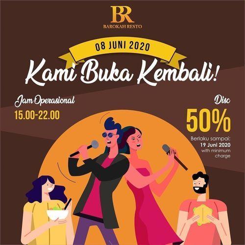 BAROKAH RESTO PROMO DISCOUNT 50% (26388483) di Kota Jakarta Selatan