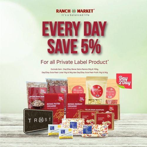 Ranch Market Every Day Save 5% (26389287) di Kota Jakarta Selatan