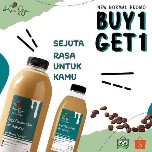 Kopi Pujaan Buy 1 Get 1 (26389683) di Kota Jakarta Selatan