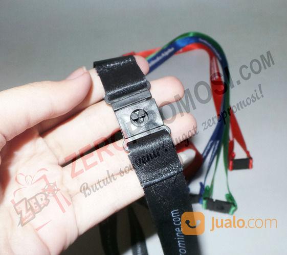 Tali Id Card 2 Cm Sablon 1warna 1 Sisi + Aksesoris Safety Break (26395407) di Kota Tangerang