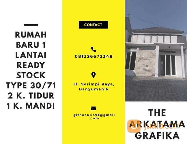 Rumah Siap Bangun 1 Lantai (26396223) di Kota Semarang