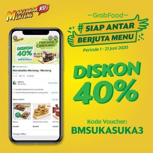 Martabakku Menteng Diskon 40% Grabfood (26397883) di Kota Jakarta Selatan