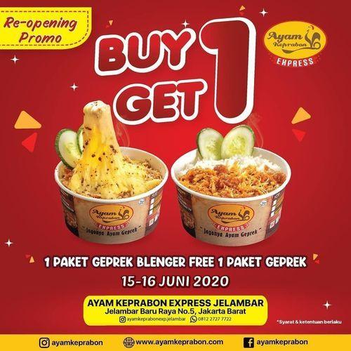 Ayam Keprabon Re-Opening Promo Buy 1 Get 1 (26398279) di Kota Jakarta Selatan