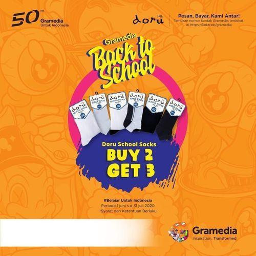 Gramedia Promo Back To School (26398507) di Kota Jakarta Selatan