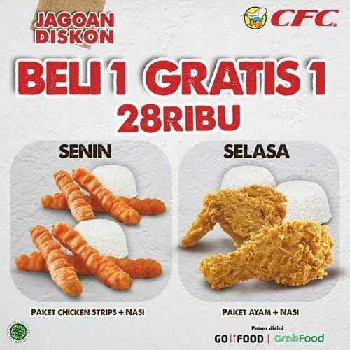 CFC Indonesia Promo Beli 1 Gratis 1 (26413739) di Kota Jakarta Selatan