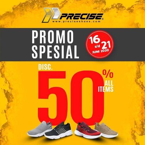 Precise Shoes Promo Special Disc. 50% (26413871) di Kota Jakarta Selatan
