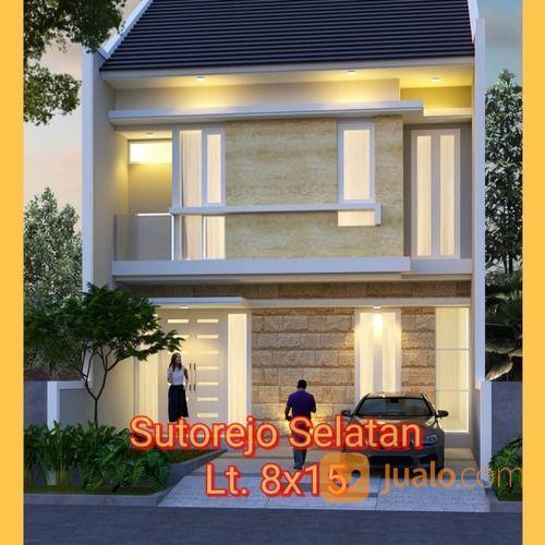 On Progres Rumah 2 Lantai Sutorejo Selatan MRU (26415503) di Kota Surabaya
