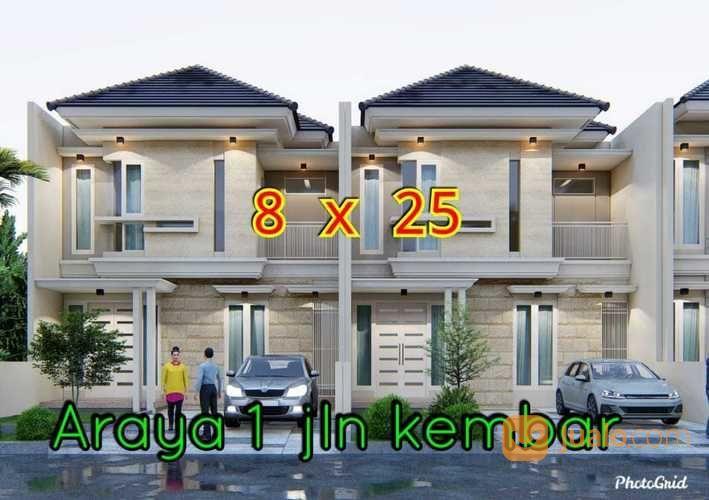 Rumah Baru Gress Di Galaxy Bumi Permai Araya 1 Jalan Kembar Surabaya (26430699) di Kota Surabaya
