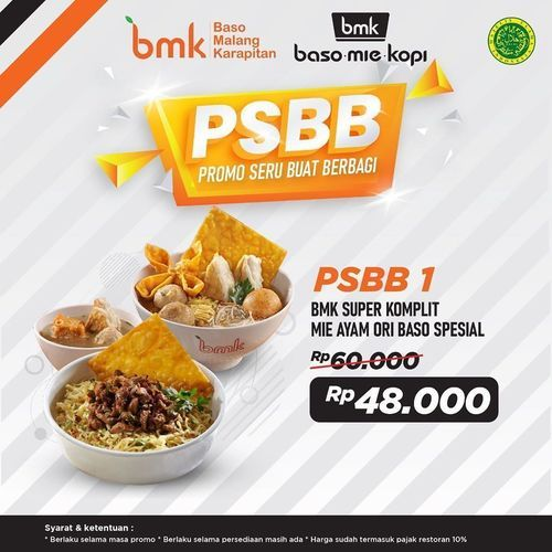 BMK Baso Mie Kopi Promo PSBB (26434455) di Kota Jakarta Selatan