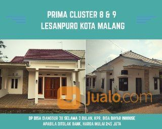 Rumah Modern Siap Bangun Lesanpuro Kota Malang (26448191) di Kota Malang