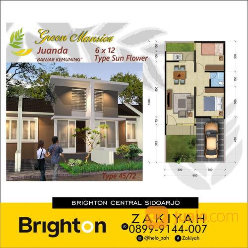 Rumah Green Mansion Juanda Hanya 5 Juta Dapat Rumah Mewah (26448519) di Kab. Sidoarjo