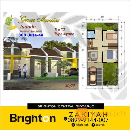 Rumah Green Mansion Juanda Hanya 5 Juta Dapat Rumah Mewah (26448531) di Kab. Sidoarjo