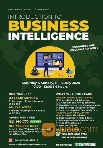 Introduction To Business Intelligence - Online Class (26448943) di Kota Surabaya