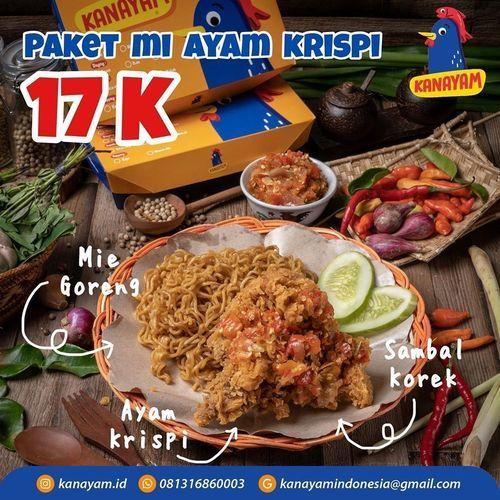 KANAYAM PROMO PAKET MI AYAM KRISPI HANYA RP 17K (26449507) di Kota Jakarta Timur