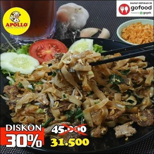 KWETIAU APOLLO DISKON 30% VIA GOFOOD (26449791) di Kota Jakarta Timur