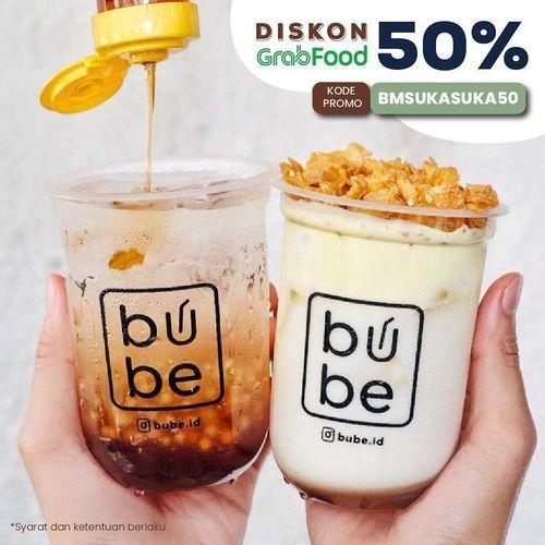 BUBE DISKON GRABFOOD 50% (26449955) di Kota Jakarta Selatan