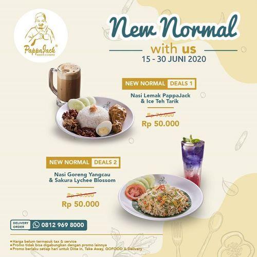 PAPPAJACK NEW NORMAL PROMO (26450059) di Kota Jakarta Selatan