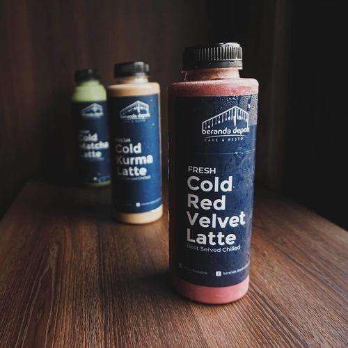 BERANDA DEPOK Cold Red velvet Latte Cuma 35k VIA GOFOOD (26453775) di Kota Jakarta Selatan