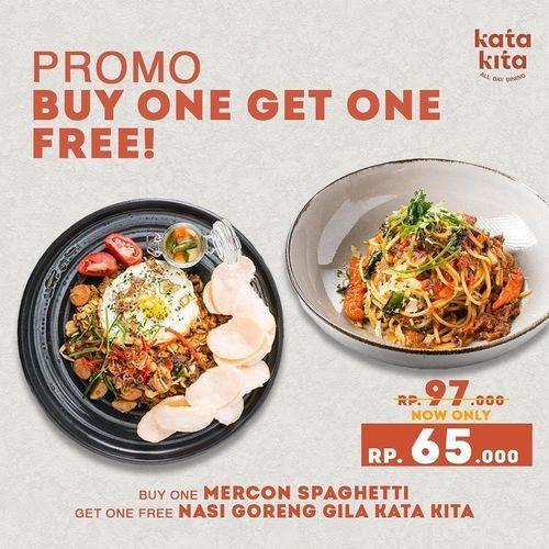 KATA KITA PROMO BUY 1 GET 1 FREE (26453827) di Kota Yogyakarta