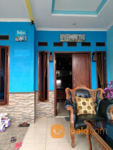 Rumah Biru Tren Harapan Elok Bekasi(L0395) (26456831) di Kota Bekasi