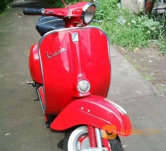 Vespa Sprint Tahun 1977 Warna Merah (26457319) di Kota Depok