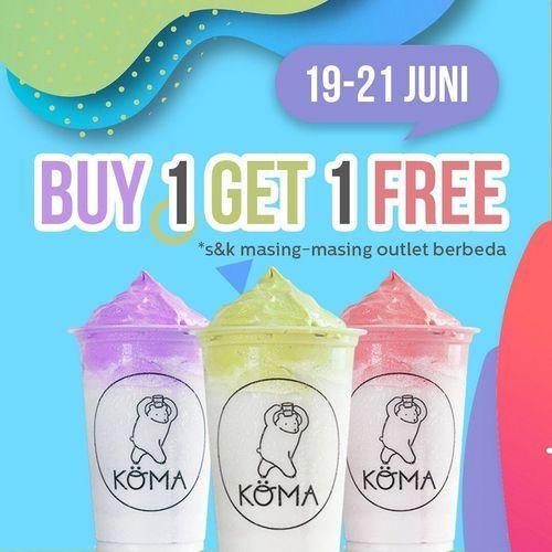 KOMA.ID Buy 1 Get 1 Free (26466283) di Kota Jakarta Selatan