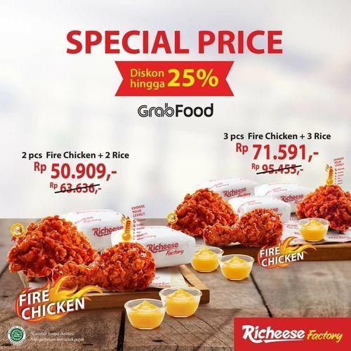Richeese Promo Delivery Special Price (26466363) di Kota Jakarta Selatan