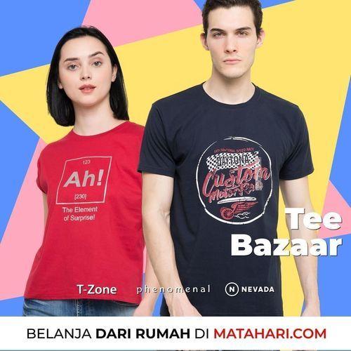 Matahari Tee Bazaar Dibawah Rp. 89.000 (26466859) di Kota Jakarta Selatan
