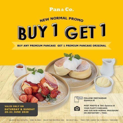 Pan & Co. Buy 1 Get 1 (26466919) di Kota Jakarta Selatan