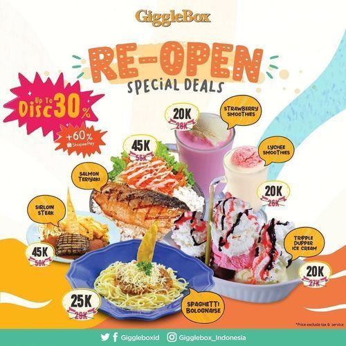 Giggle Box Re-Open Special Deals (26477447) di Kota Jakarta Selatan