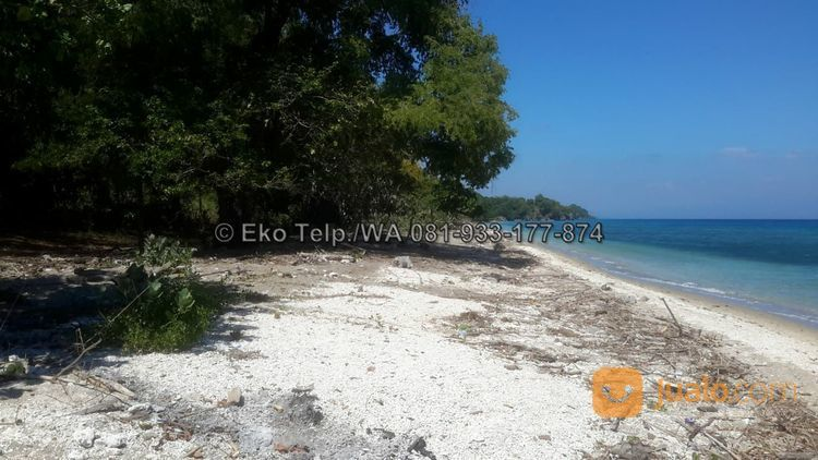 Tanah Cantik Tepi Pantai Pasir Putih Pulau Moyo View Sunsite (26483543) di Kota Mataram