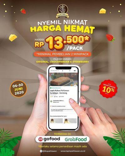 LAPIS KUKUS PAHLAWAN HARGA HEMAT MINIPACK PROMO 13.50 (26485707) di Kota Surabaya